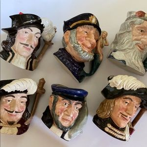 Highly collectible mugs from Royal Doulton